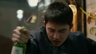 EXO Kyungsoo acting drunk [movie scenes]