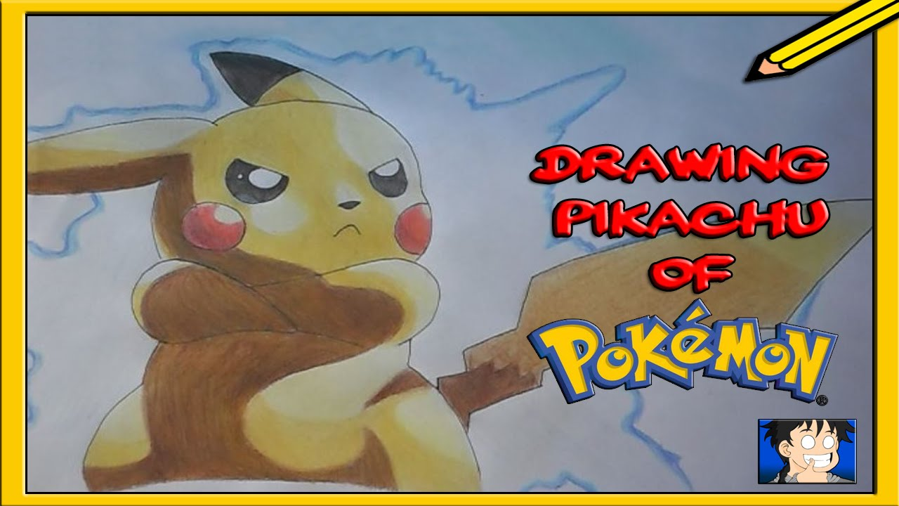 Come Disegnare Pikachu How To Draw Pikachu Youtube