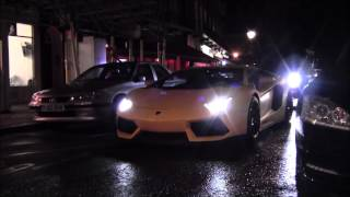 Supercars in London! Aventadors, Hamann M5F10, Bat 458 and more!