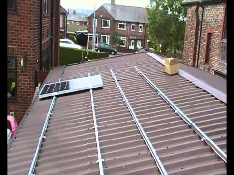 Solar power install