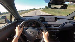 2019 Lexus UX 200 F Sport - POV Test Drive (Binaural Audio)
