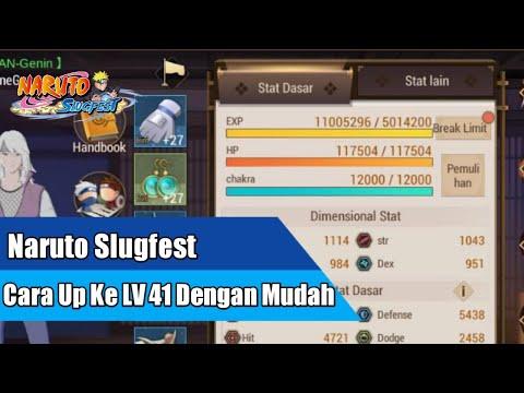 Naruto Slugfest - Cara Up Ke Lv 41 Dengan Mudah - 동영상
