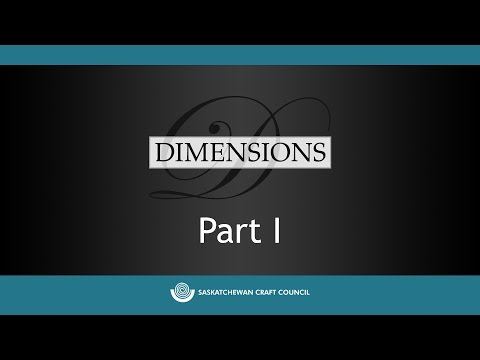 Dimensions 2015 Jurors' Critique Part I