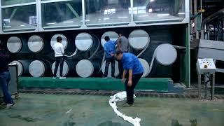 Sản xuất bông sợi nhân tạo/ Polyester fiber production plant
