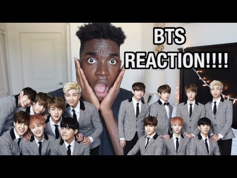 REACTING TO BTS!!!