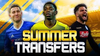 SUMMER TRANSFERS! w/ BARCELONA TO IMPROVE DEMBELE OFFER! - FIFA 18 ULTIMATE TEAM