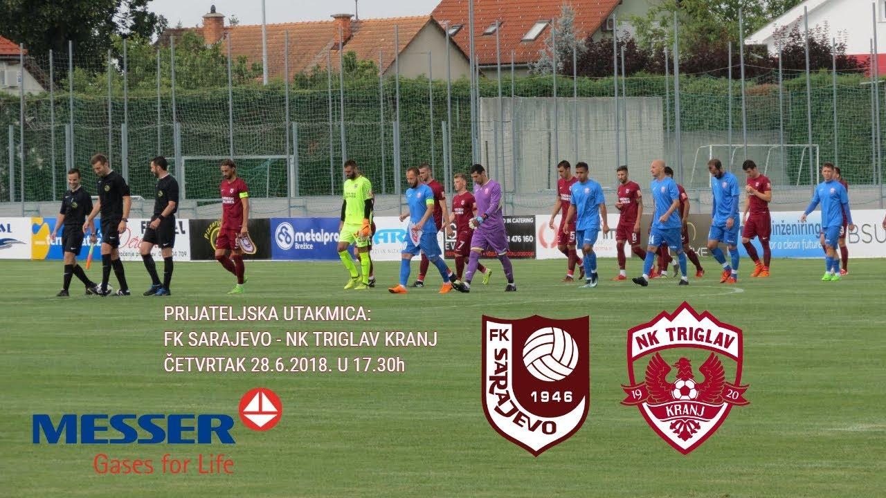 Video] FK Sarajevo - Triglav / Club Friendly - World / 2018