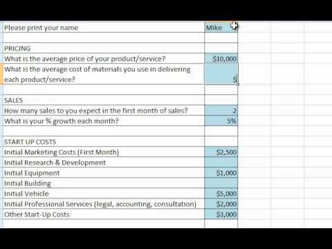 Create A Sales Forecast - YouTube