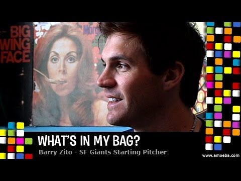 Barry Zito (SF Giants) - What's In My Bag?