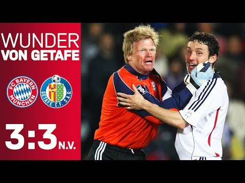The Miracle Of Getafe: When Luca Toni Saved FC Bayern | FC Getafe - FC Bayern 3:3 A.e.t