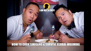 How to Cook Sinigang & Beat the Heat- I AM NOT A CHEF! (Ep.16)