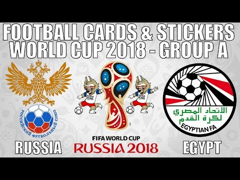 RUSSIA v EGYPT ⚽ Group A ⚽ Football Cards & Stickers FIFA WORLD CUP 2018 ⚽ Panini ⚽ Match #17