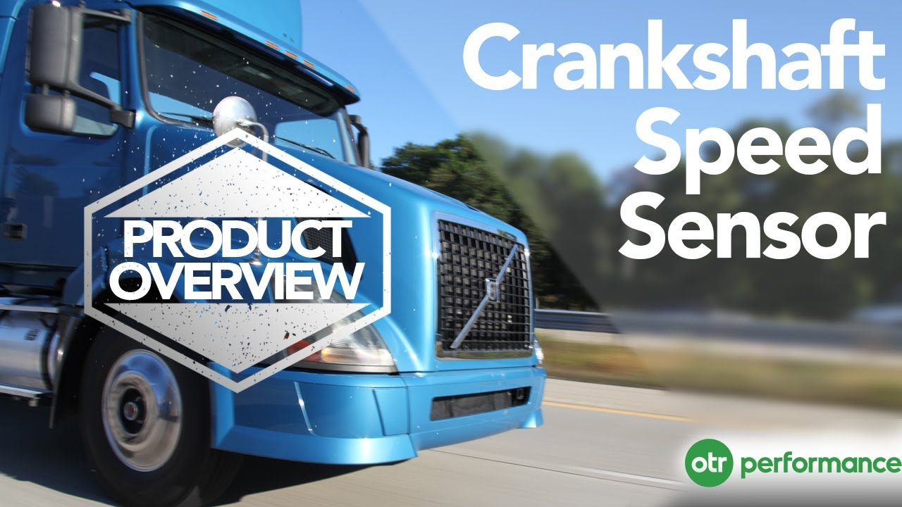 volvo truck crankshaft speed sensor product overview otr rh youtube com