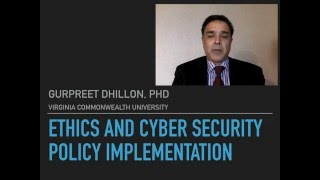 Ethics and security policy implementation