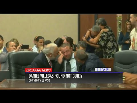 Daniel Villegas found not guilty