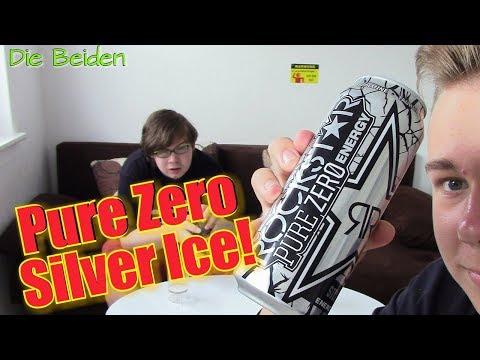ROCKSTAR PURE ZERO SILVER ICE im Test! [DE] | Die Beiden | DEUTSCH