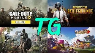 TG NEWS#1-CALL OF DUTY RELEASE DATE,PUBG COMPANY NAME CHANGED,ELDER SCROLLS BLADES,CLASH OF CLANS