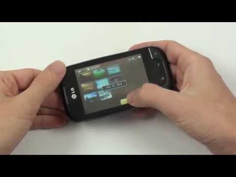 LG Optimus Net - galerie a video