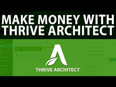 How To Make Money With Thrive Architect & Wordpress PART 2   Dreamcloud Academy thumbnail