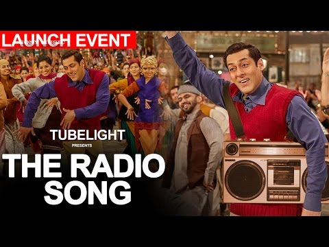 Tubelight Radio song : The radio song Launch event Dubai