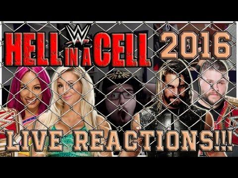 WWE HELL IN A CELL 2016 LIVE REACTIONS!!! | HARDCORE SPOTS! :O | German/Deutsch