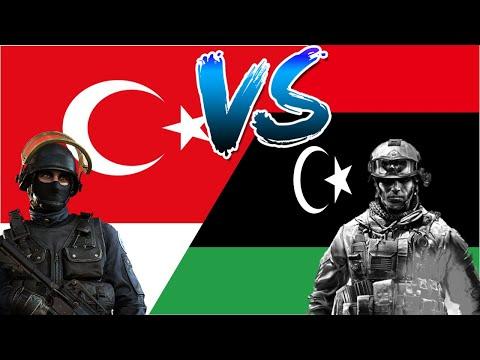 ТУРЦИЯ VS ЛИВИЯ /Сравнение Армии и вооруженных сил стран- 2020