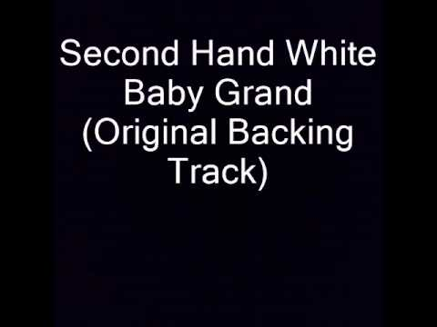 Second Hand White Baby Grand Original Backing Track