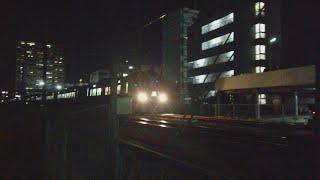 JR四国 松山駅付近 8600系特急しおかぜ・いしづち17号 到着