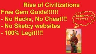โปรเกม Hack Rise of Civilizations 2019