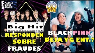 BIGHIT responde sobre fraude|BLACKPINK DEJA YG ENT? Video