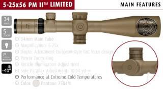 S&B 5-25x PMII Limited Edition
