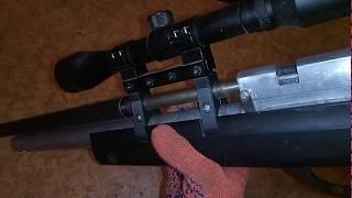 мощная pcp винтовка своими руками. доработки и продвижения