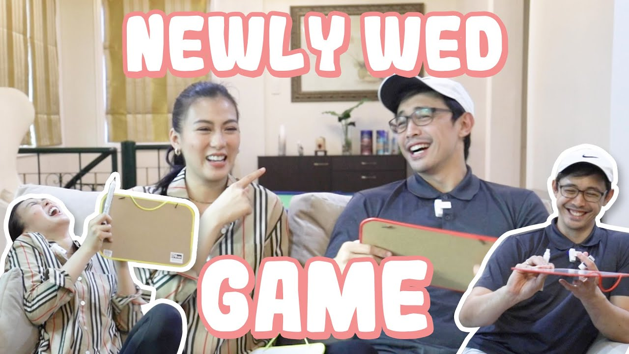 We Played The Newly-Wed Game by Alex Gonzaga