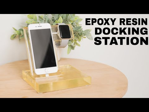 I built a Charging station using EPOXY