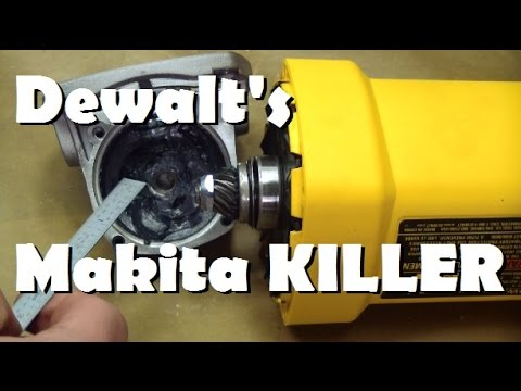 Bored of lame tool reviews? Meet DeWalt's 12 Amp Grinder part A
