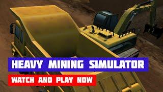 Heavy Mining Simulator · Game · Gameplay