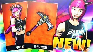 "*NEW* LEGENDARY ""POWER CHORD"" SKIN in FORTNITE! ""POWER CHORD"" SKIN UPDATE! (Fortnite Battle Royale)"
