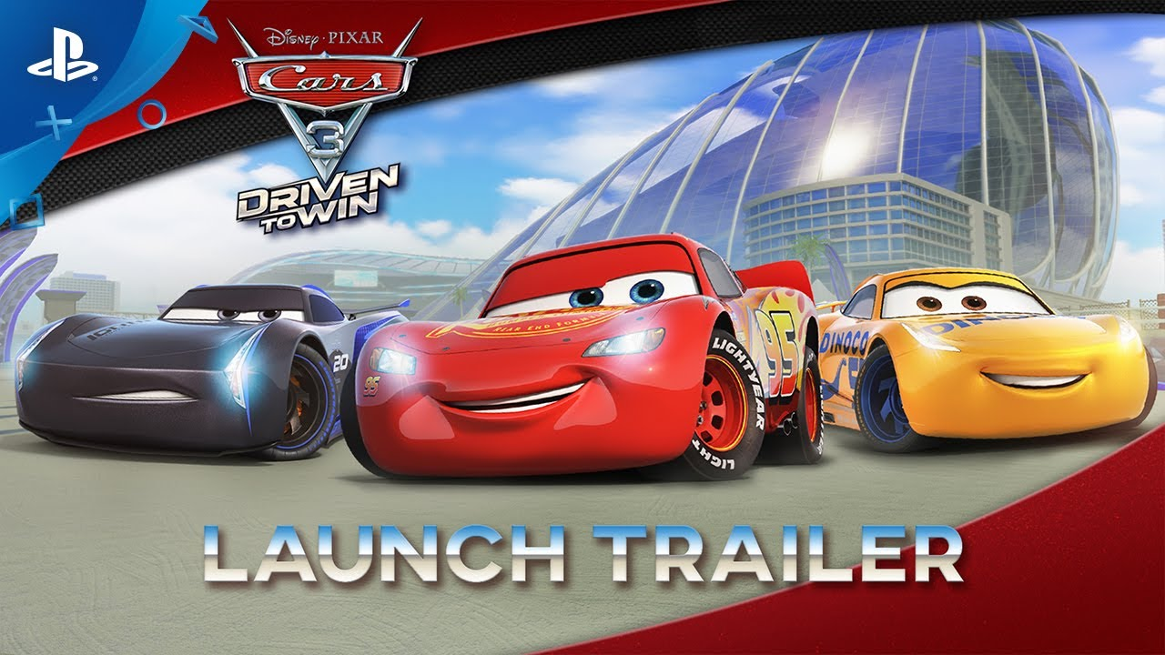 cars 3 driven to win launch trailer ps4 ps3 youtube. Black Bedroom Furniture Sets. Home Design Ideas
