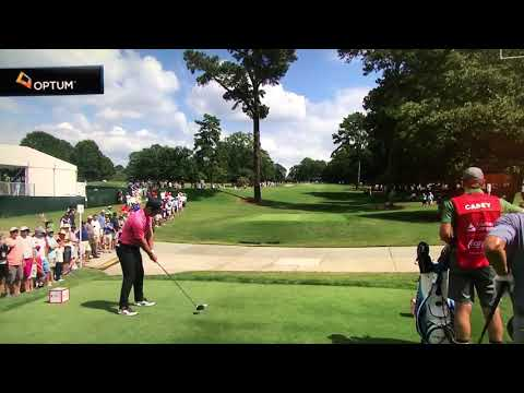 Paul Casey hits Wayne Riley Radar