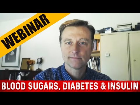 Blood Sugars, Diabetes & Insulin: Dr. Berg's Webinar