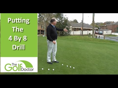 Improve Your Putting Distance Control With The 4 By 8 Drill