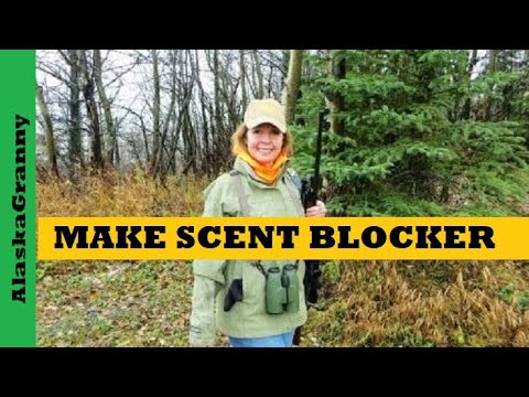 How To Make Scent Blocker DIY Hunting Gear