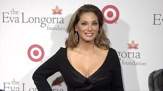 Alex Meneses arrives at Eva Longoria Foundation Dinner 2015 Red Carpet