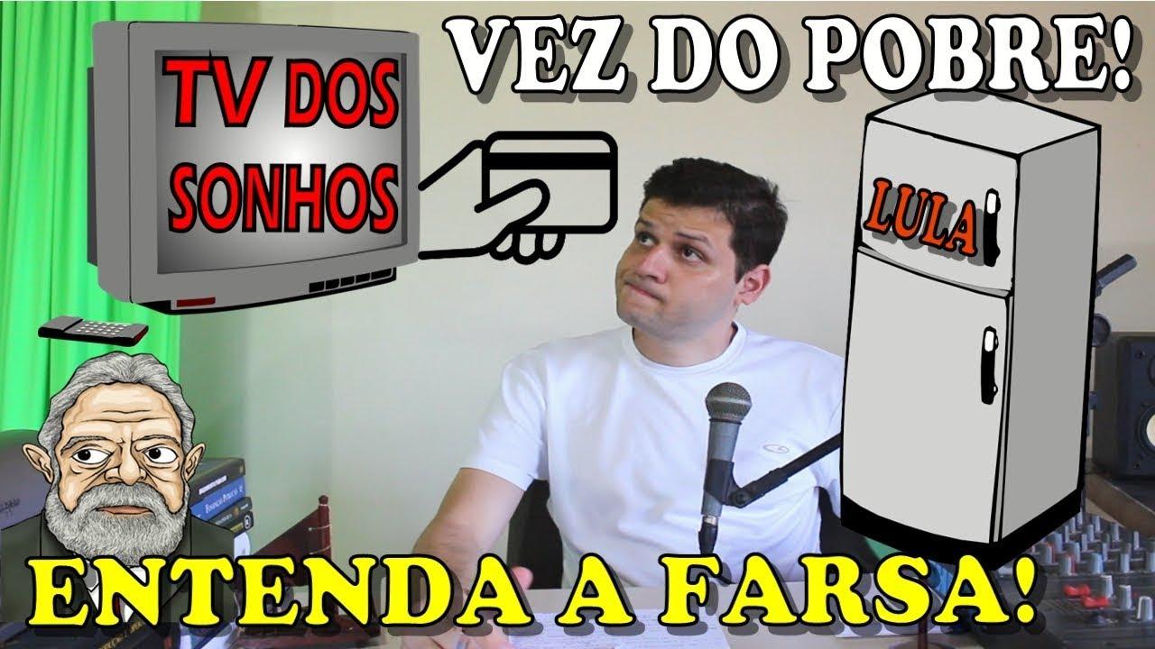 Lula fez o pobre comprar e realizar sonhos! Entenda a farsa!