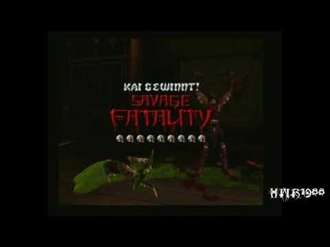 Mortal Kombat: Armageddon - Everyone Finishing Reptile (Alternate Costume)