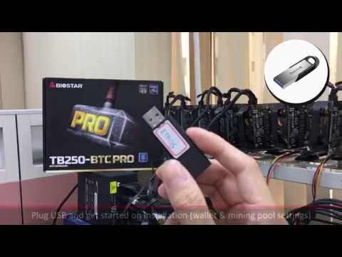 How to Install ethOS Mining System on BIOSTAR Mining Motherboard