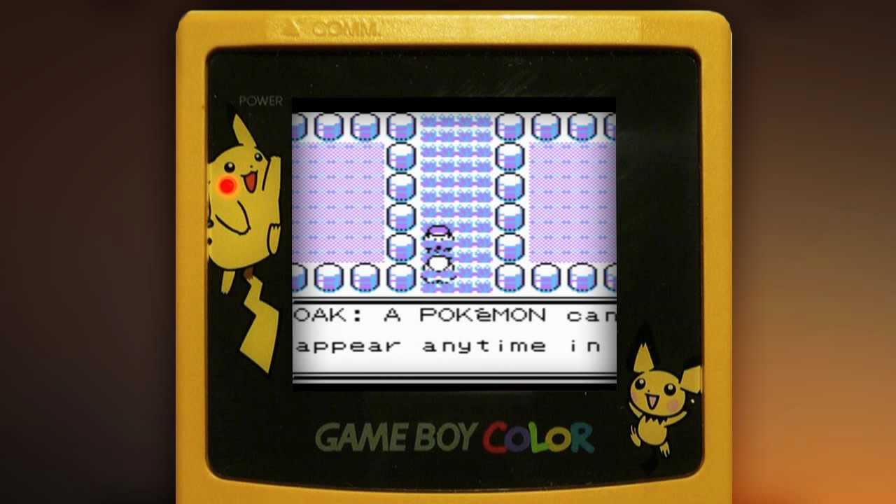 Gameboy color and pokemon yellow - Pokemon Yellow Gameboy Gameplay