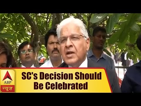 SC's Decision Should Be Celebrated, It Is a Victory Of Democracy: Ashwani Kumar   ABP News