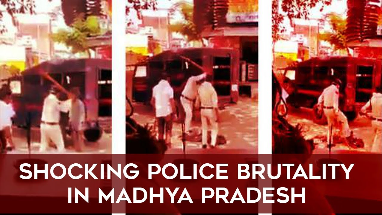 SHOCKING POLICE BRUTALITY IN INDIA