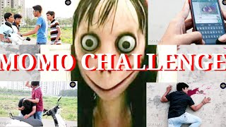 MOMO CHALLENGE || Momo challenge india || Momo challenge gujrat || Momo challenge funny video ||